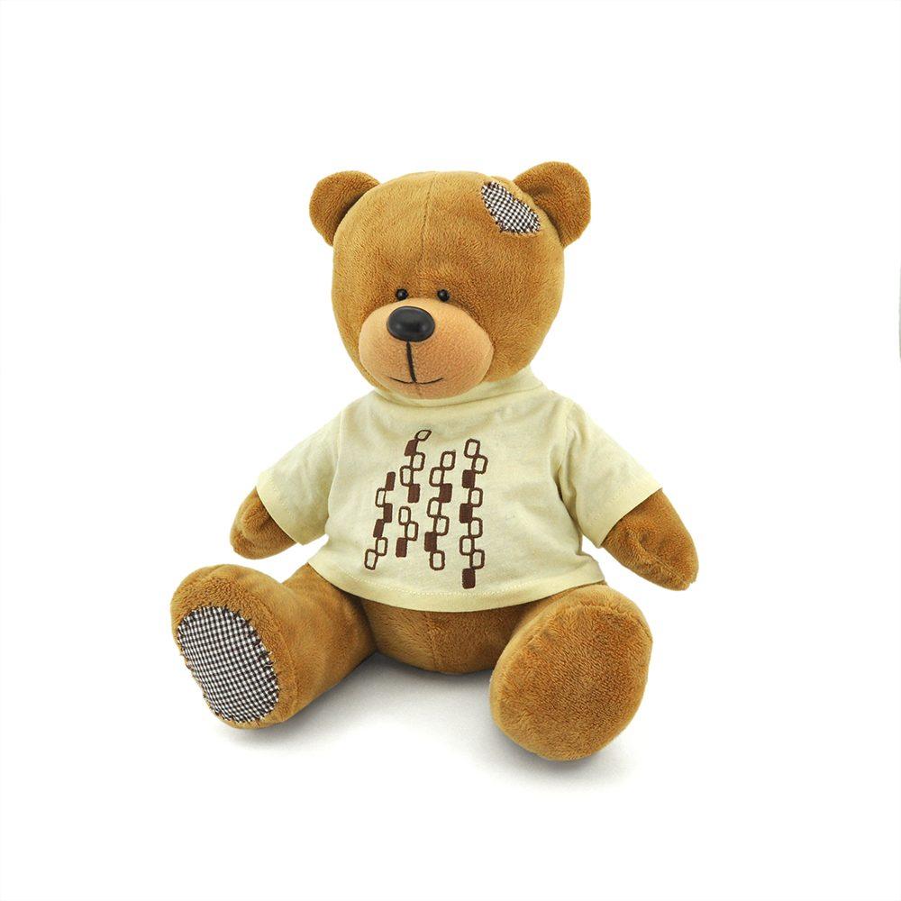 Медведь топтыжкин коричневый 20см
