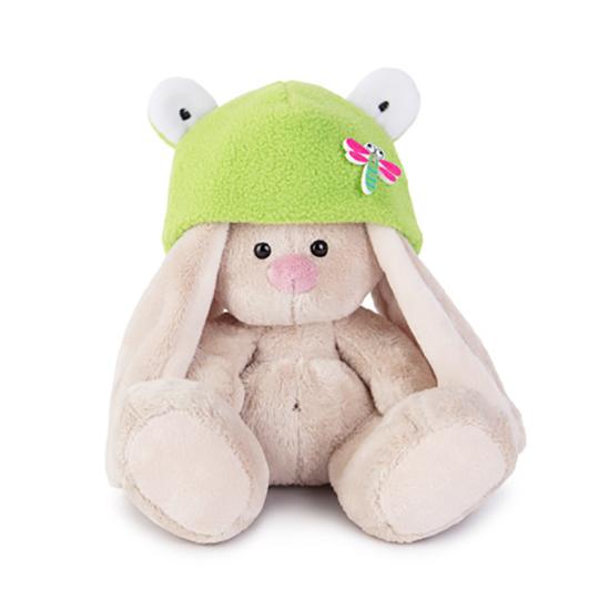 Зайка Ми в шапке-лягушка (малыш)