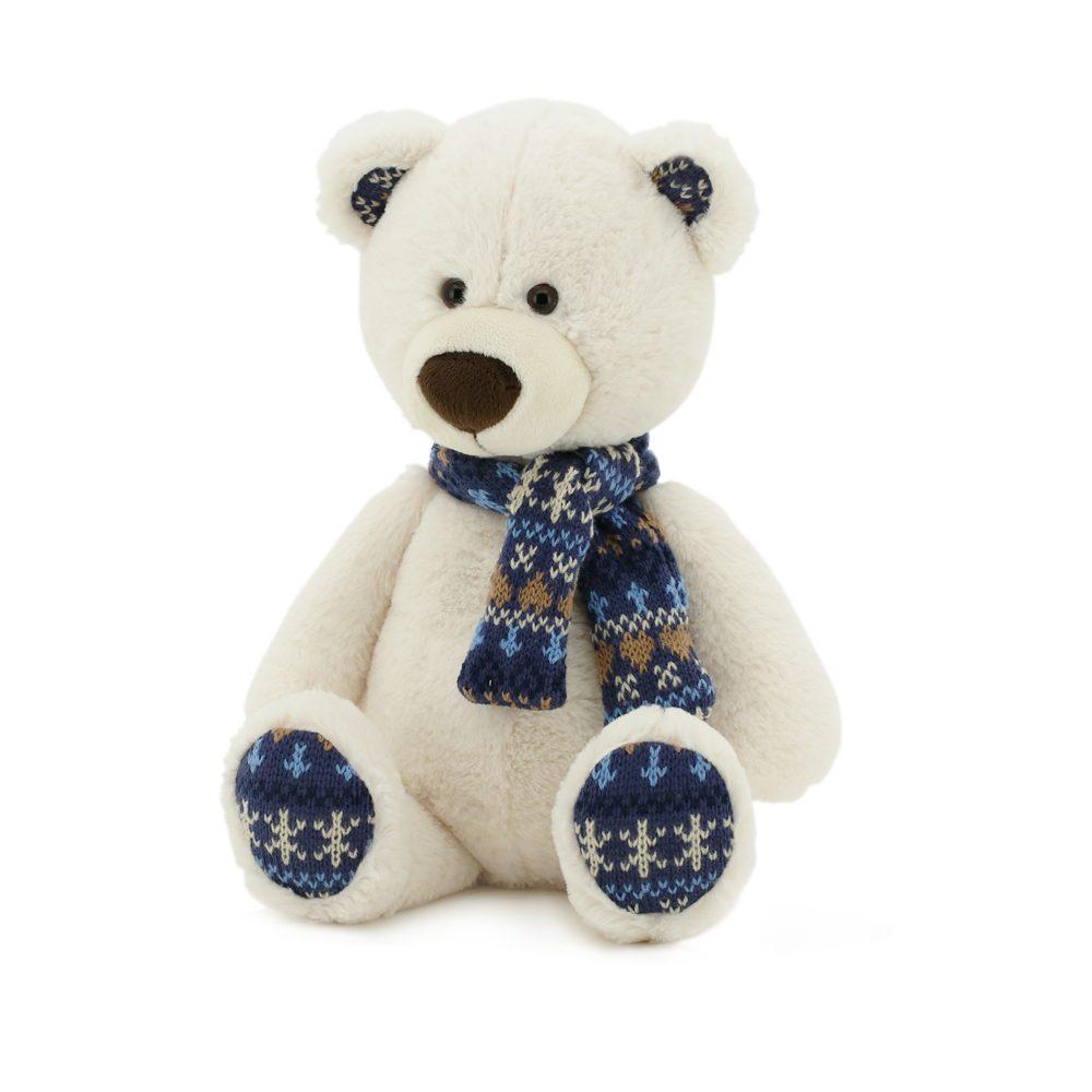 Медведь Снежок 30см