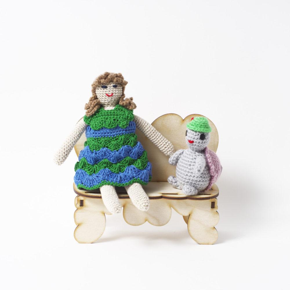 Черепашка-ювелирная работа (куколки нет)