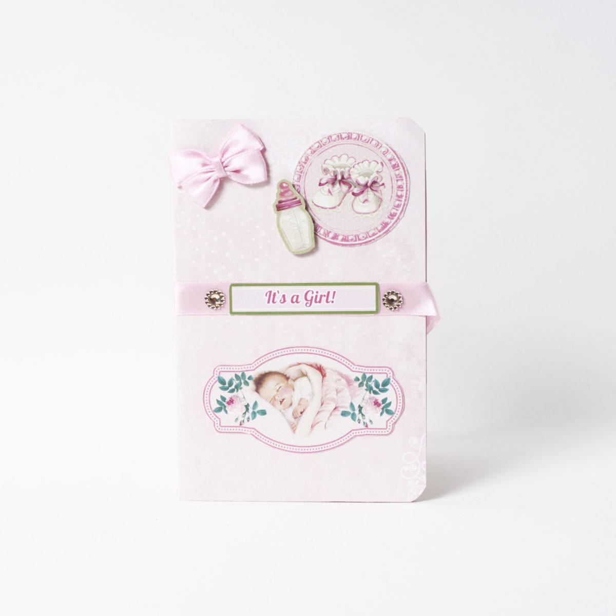 С Рождением девочки! (e)