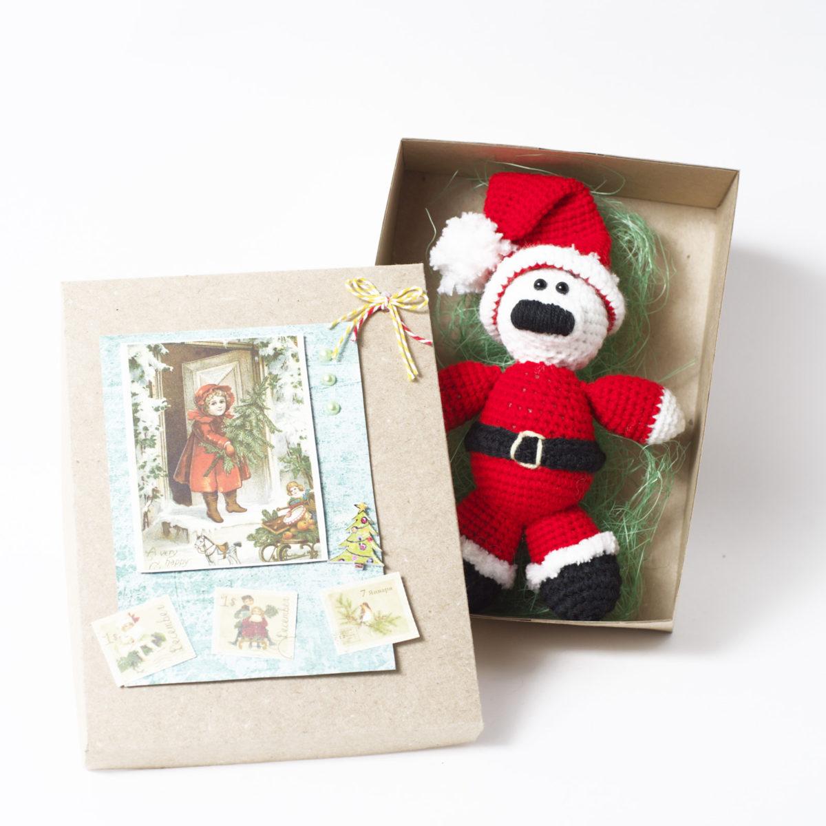 Мишка дед Мороз(без коробки, минус 150₽)