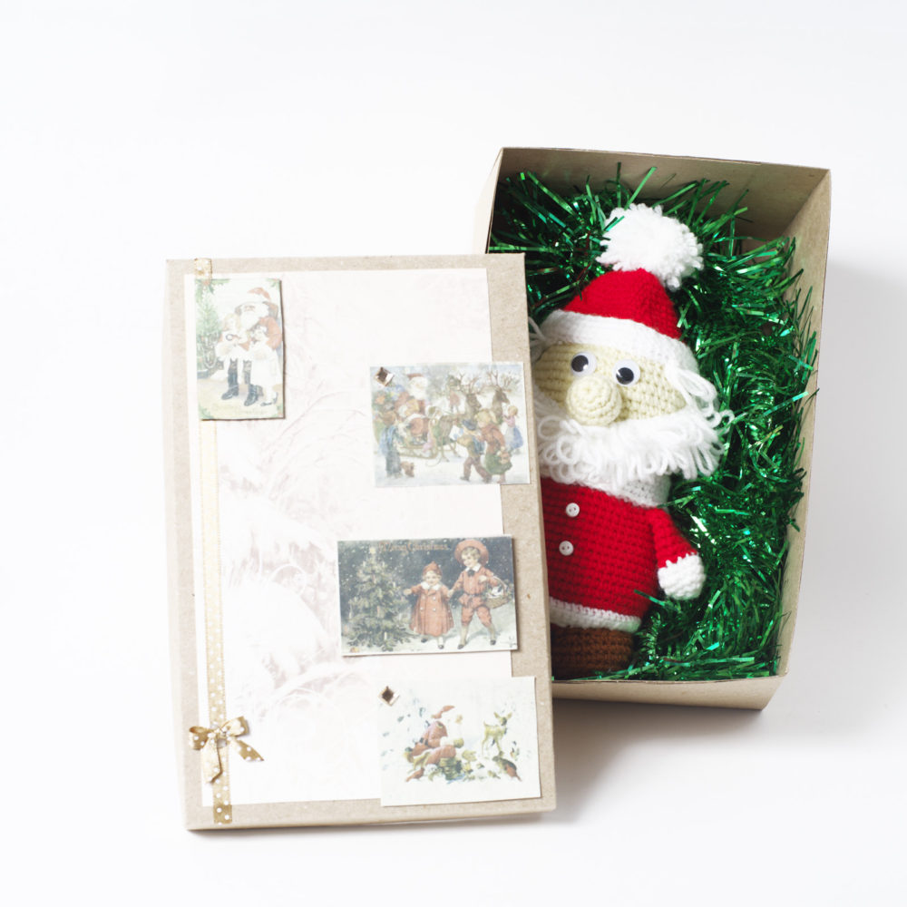 Цена по акции! Выгода 100₽. Дед Мороз в под. коробке (без коробки минус 150₽)