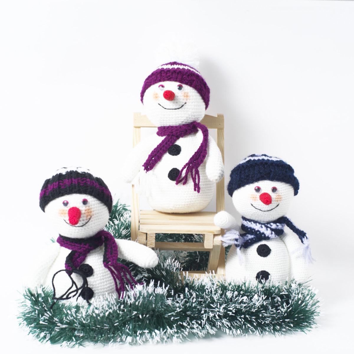 Снеговик по привлекательной цене, 15-16 см