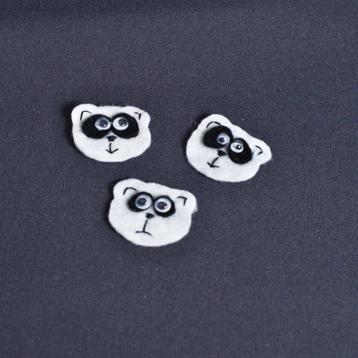 Аппликация Панда, цена за шт