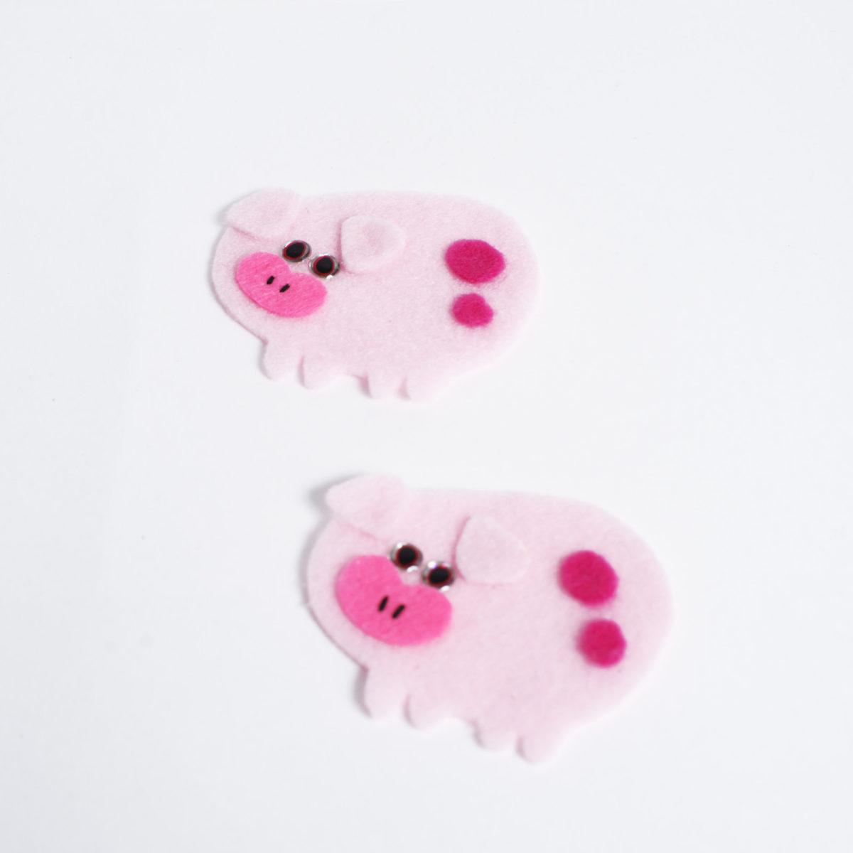 Аппликация Свинка