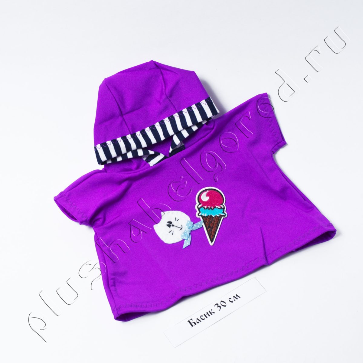 Футболка с капюшоном «Мороженое»