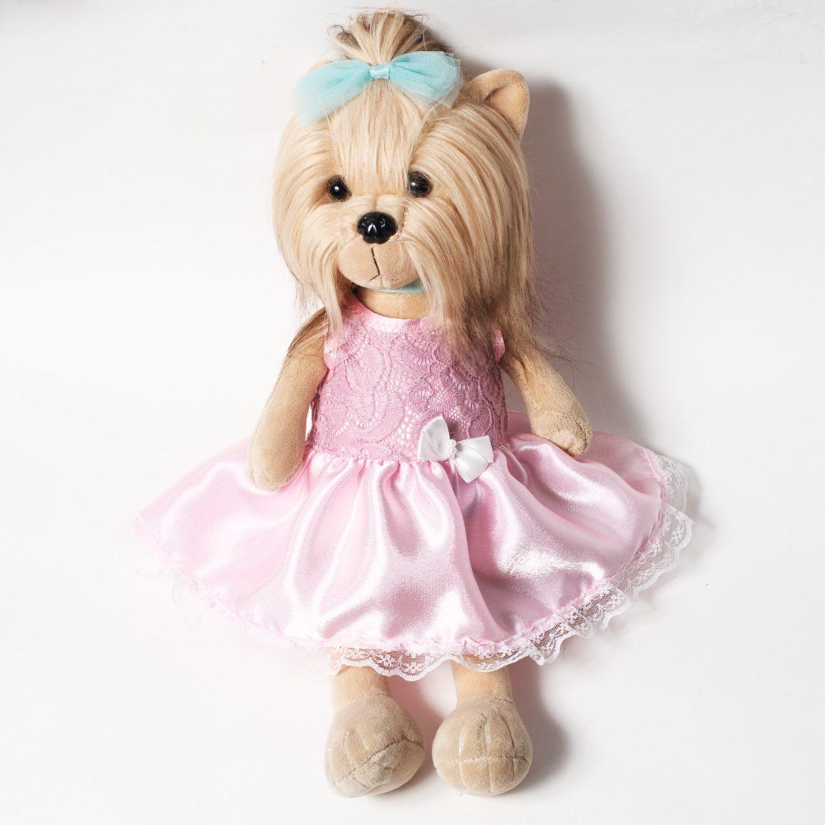 Платье розовое (Догги)