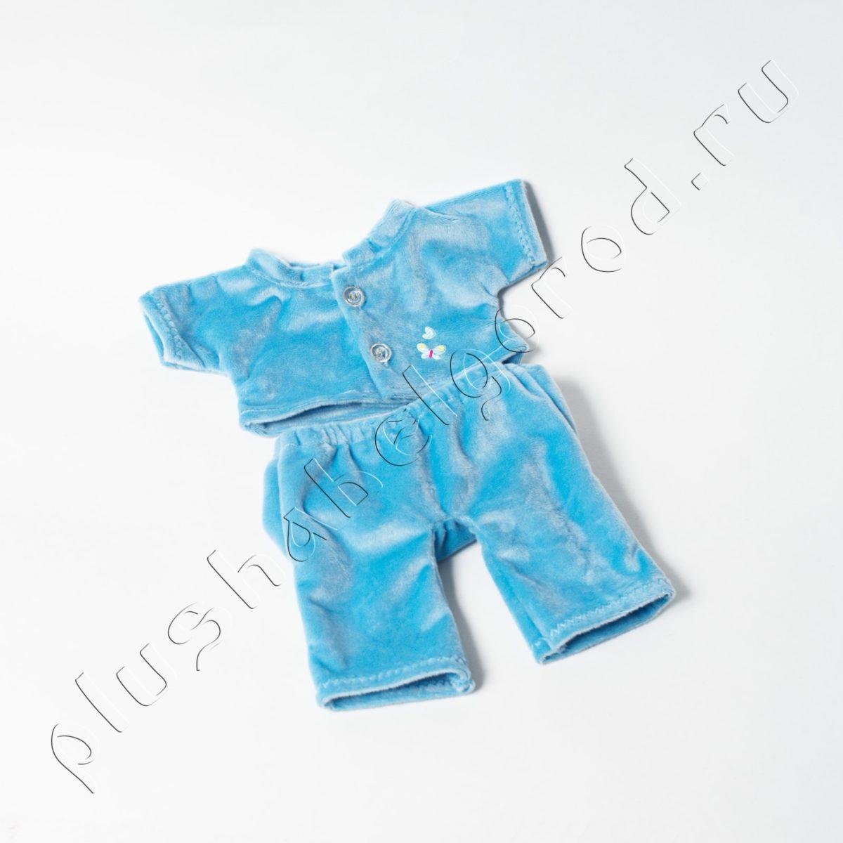 Костюм голубой (бантик не входит)