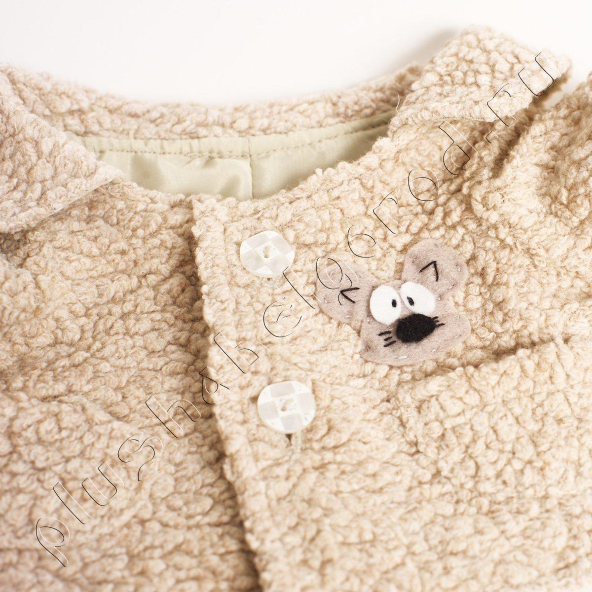 Пальто на подкладке с мышкой (30)