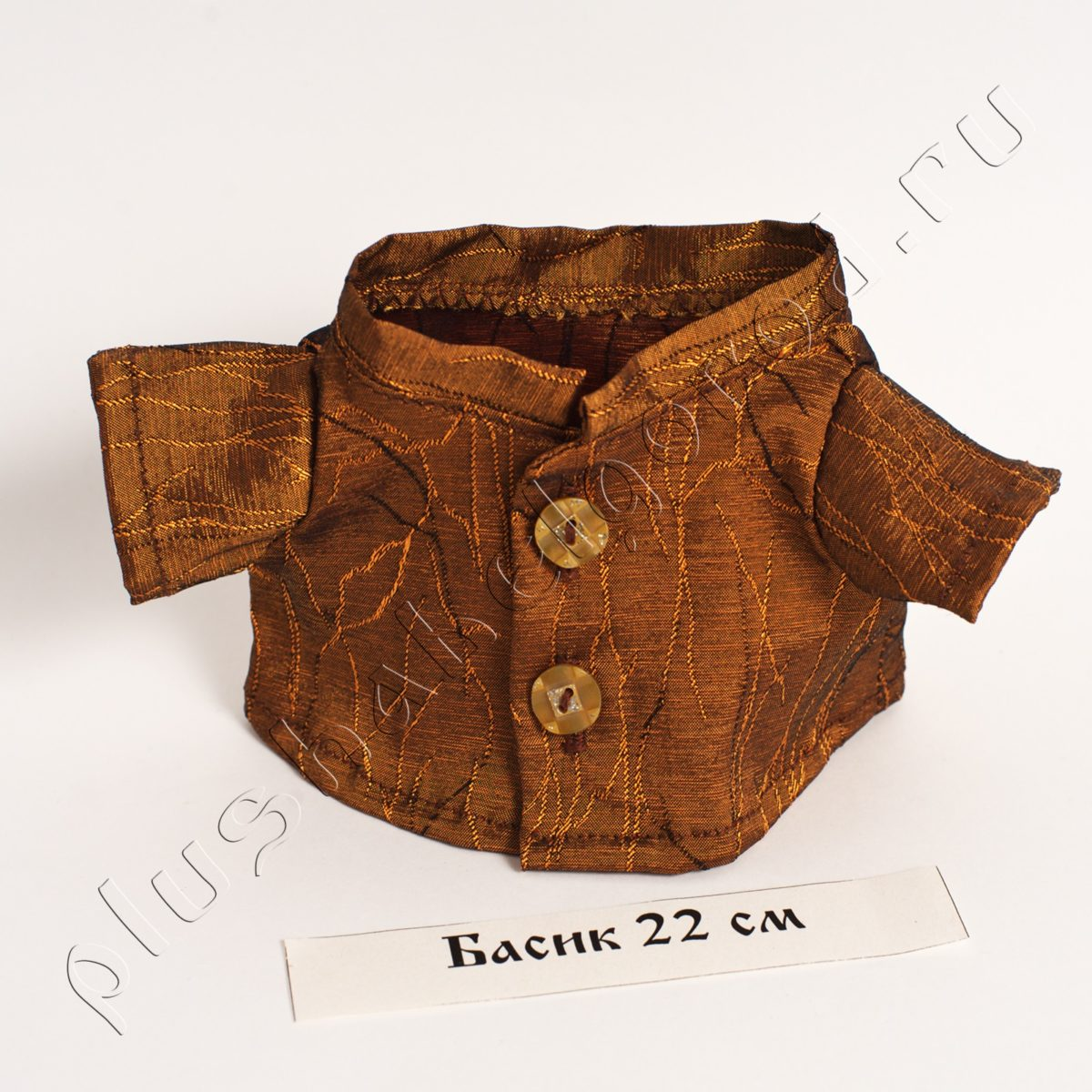 Рубашка коричневая (22)