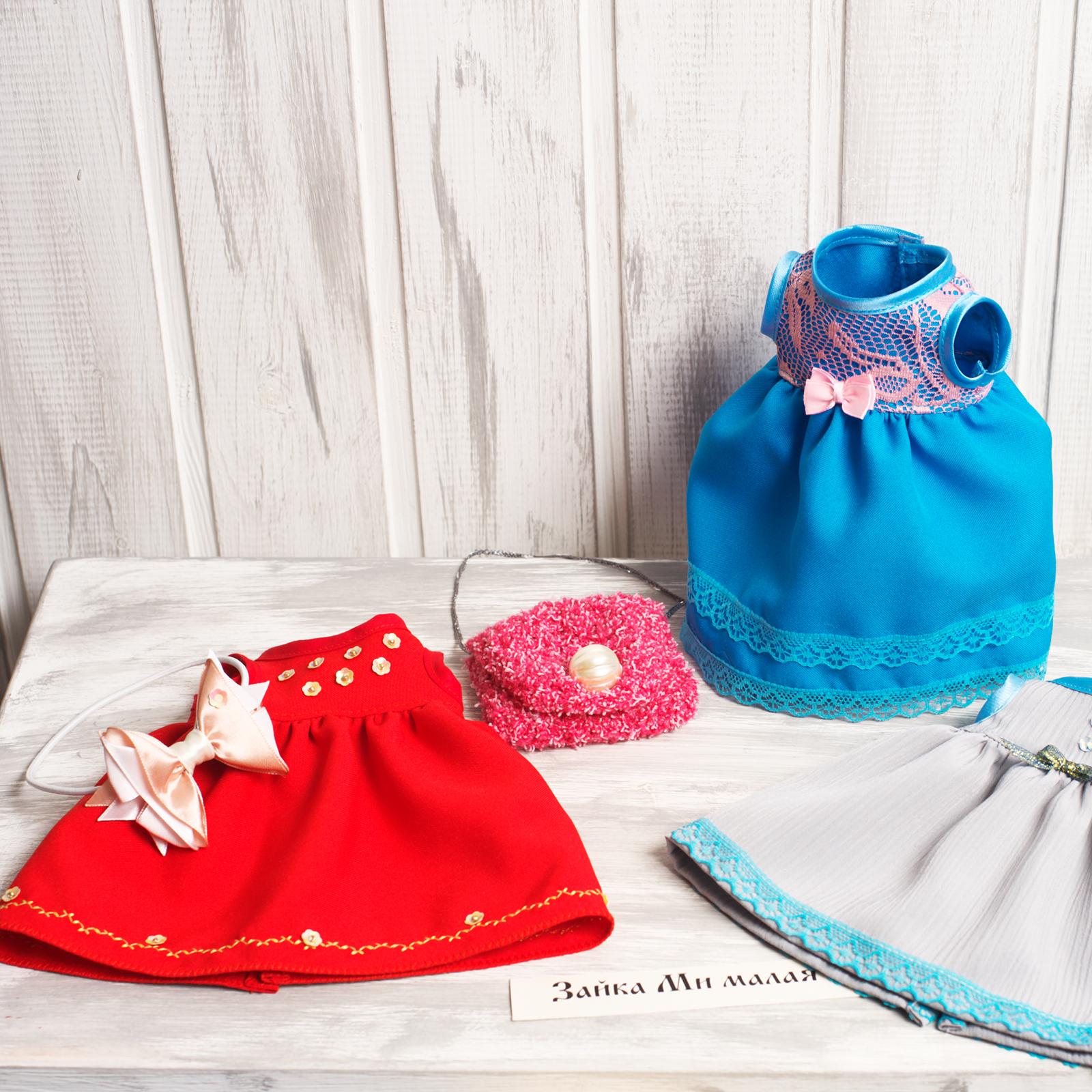 Выгодное предложение: 3 платья, сумочка, бантик на голову