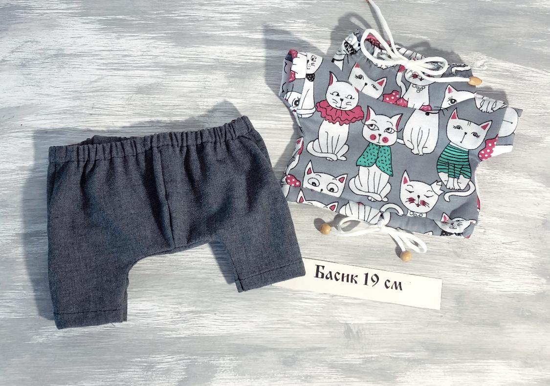 New! Брюки и футболка с котиками (19)
