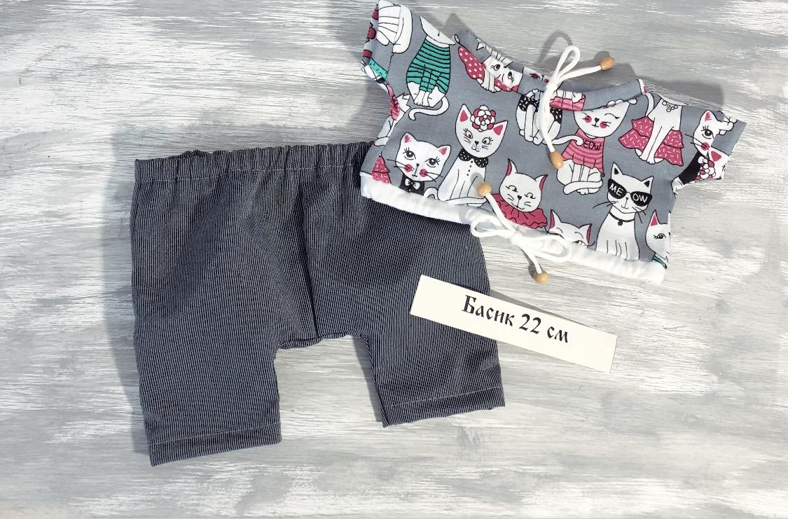 New! Брюки и футболка с котиками(22)
