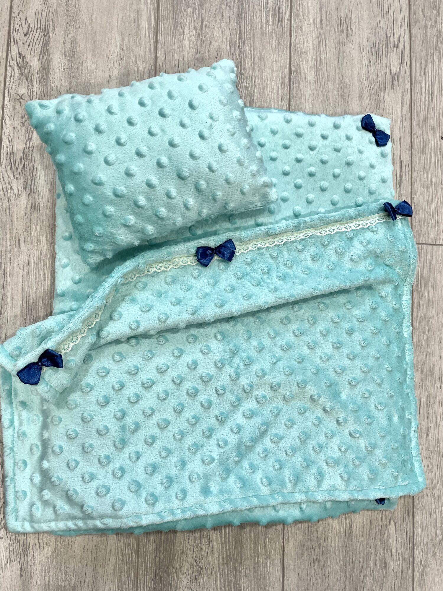 Мягкая постель для приятных снов: матрасик, подушечка, одеяло